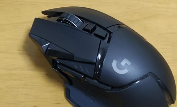 ロジクール G502WL ボタン