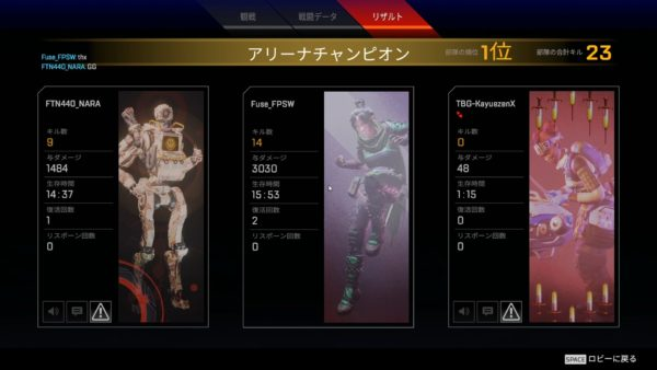 Apex Legends 3000ダメージ