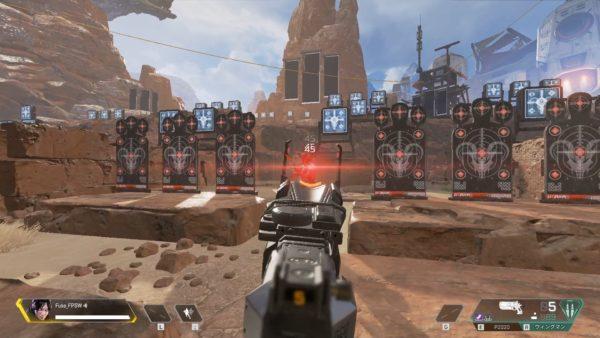 Apex Legends 射撃訓練場 Bot