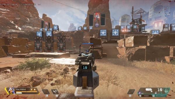 Apex Legends 射撃訓練場 Botを動かす