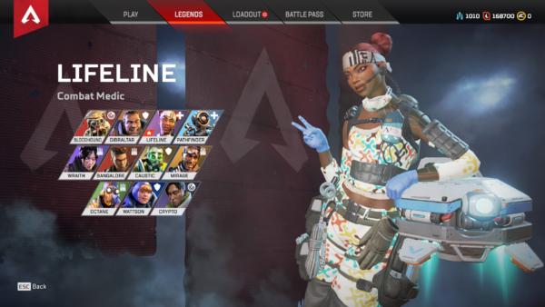 Apex Legends ライフラインの英語スペル