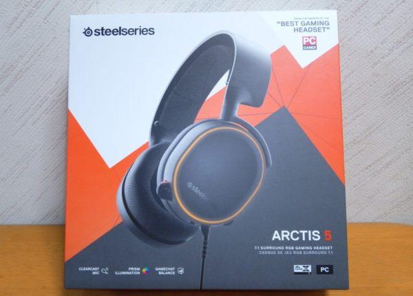 SteelSeries Arctis5 レビュー