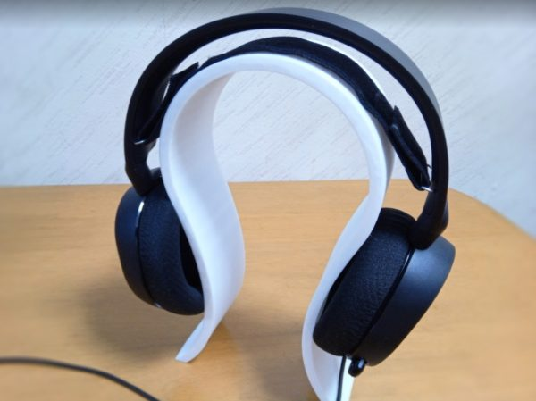 SteelSeries Arctis5 装着感