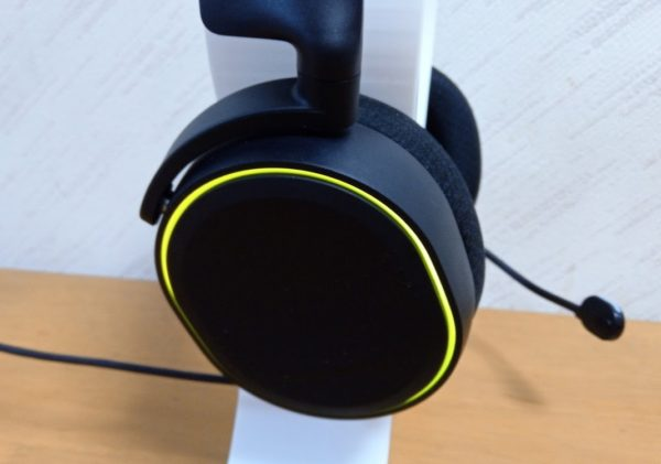 SteelSeries Arctis5 光り方