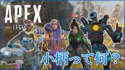 【Apex Legends】小柄って何?被ダメージアップはどのくらい?
