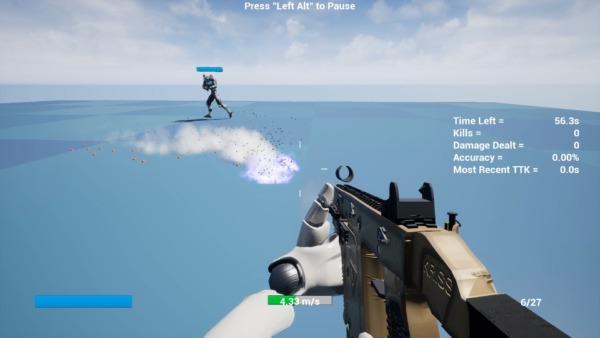 Apex Aim Trainer Bullet trail