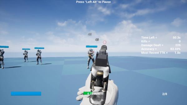 Apex Aim Trainer ヒットマーカー