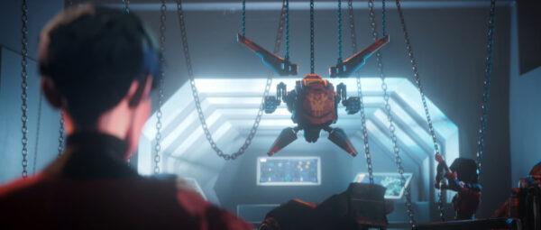 Apex Legends ランパートがノーススターを改造するシーン