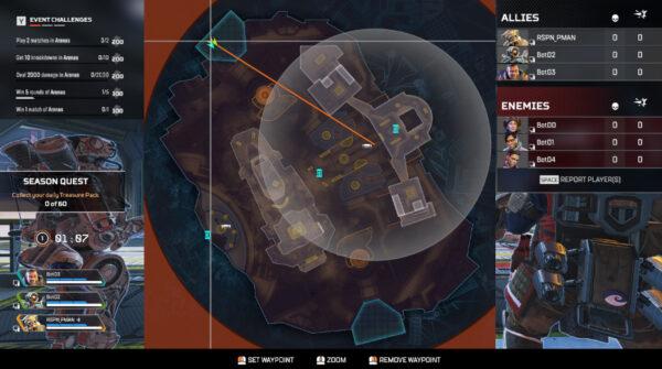 APEX アリーナのマップにスコアボードが追加